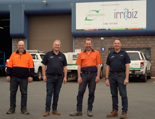 Greenworks Irribiz Tasmanian TV Commercial
