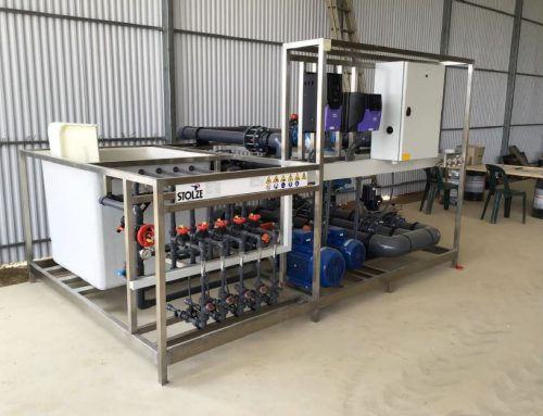 AIS Greenworks Priva irrigation unit made by Stolze